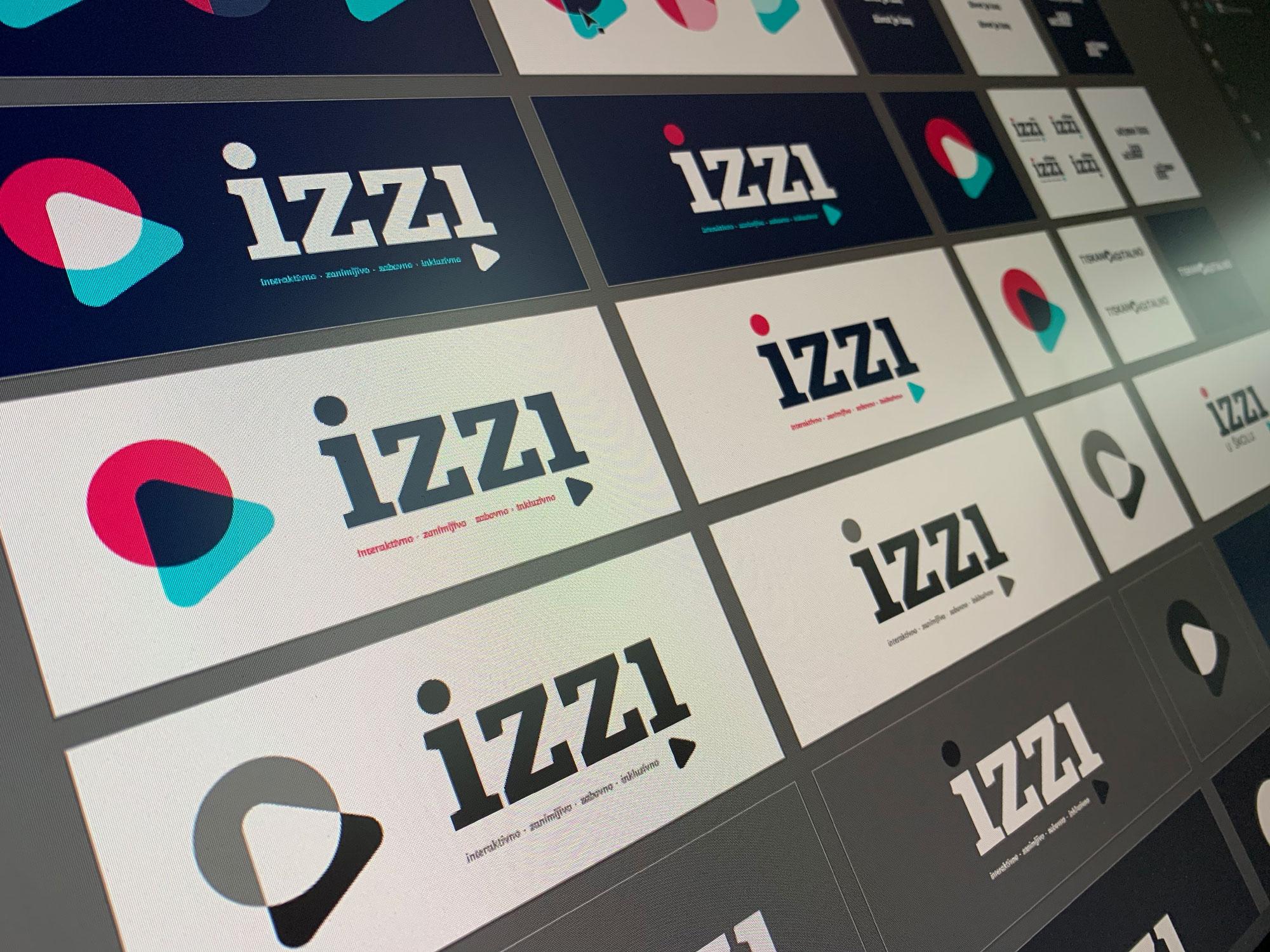 IZZI brand design